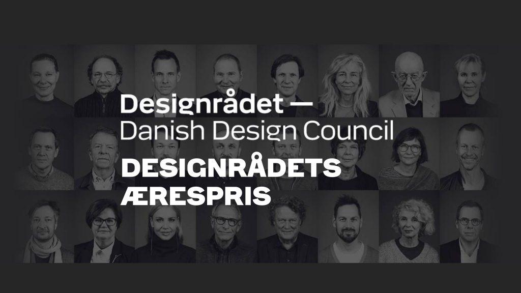 Designrådets Ærespris uddeles ved Danish Design Award