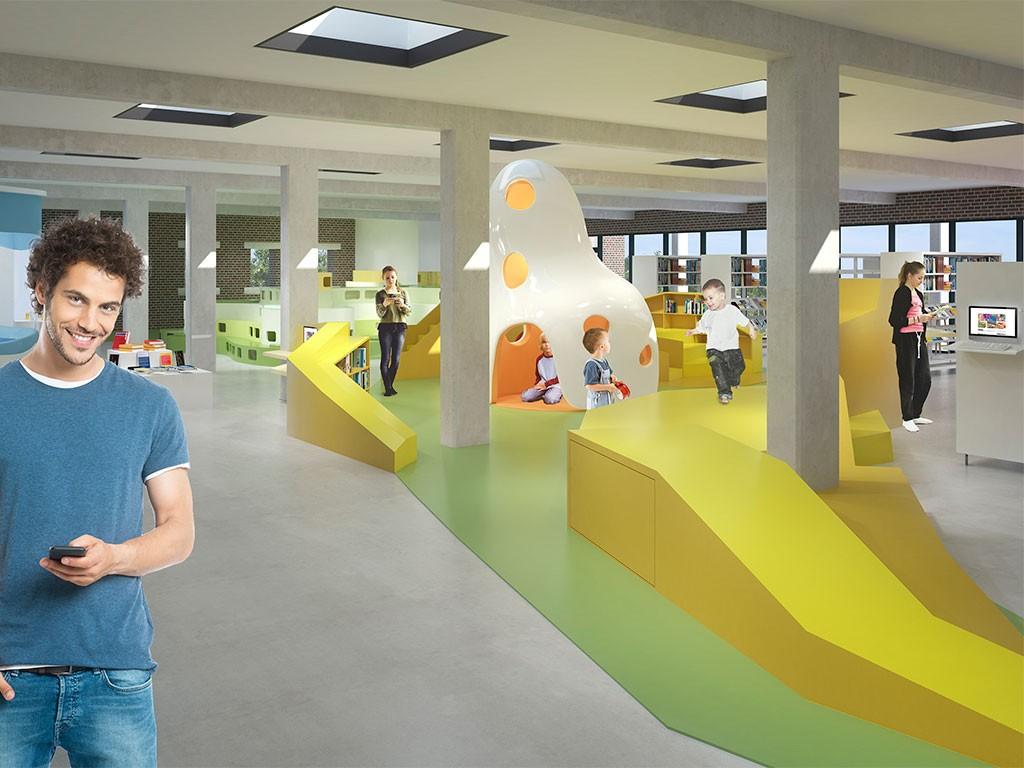 Børnenes Bibliotek i Billund